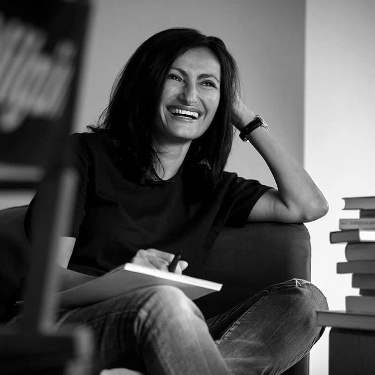 Nilgün Tasman, theater director, filmmaker, author WOHNDESIGN magazine reader