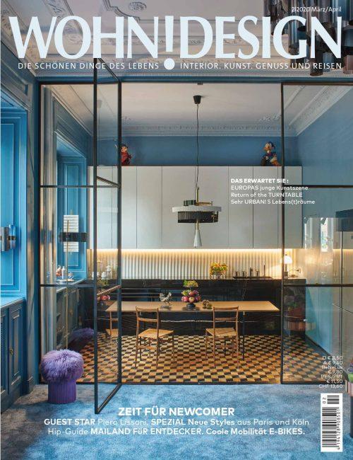 Das neue WOHNDESIGN Magazin 02/2020 im Zeitschriftenhandel