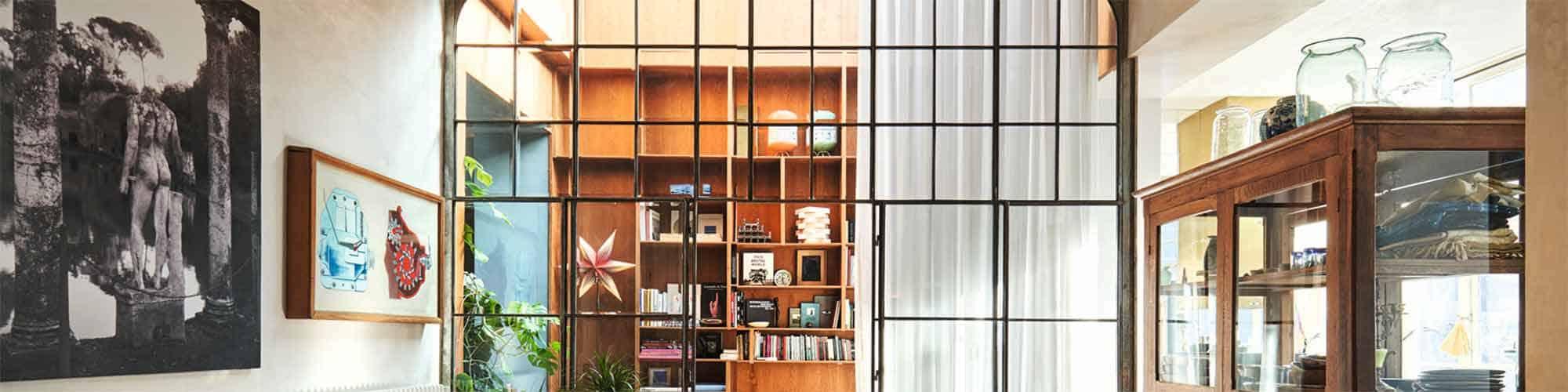 salle d'art magazine design à la maison